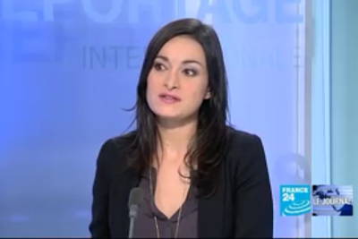 2012 01 11 @06H20 - MARJORIE PAILLON, FRANCE 24, LE JOURNAL