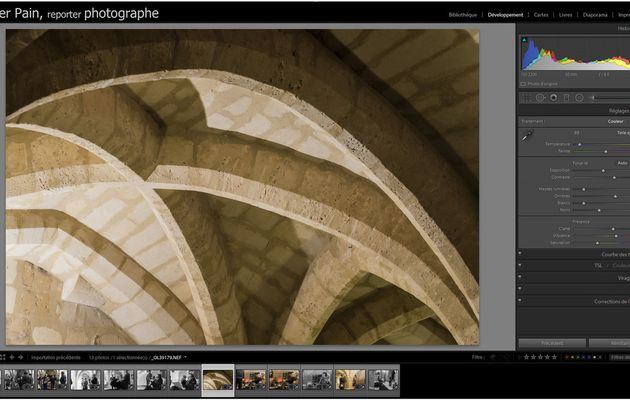 Travailler sur Adobe Lightroom