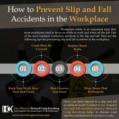 How to Prevent Slip and Fall Accidents in the Workplace?