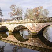 Saint-Viance en Corrèze et son pont à trois arches du 19ème - Les Photos de Sébastien Colpin