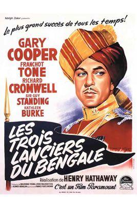 Les Trois Lanciers du Bengale de Henry Hathaway
