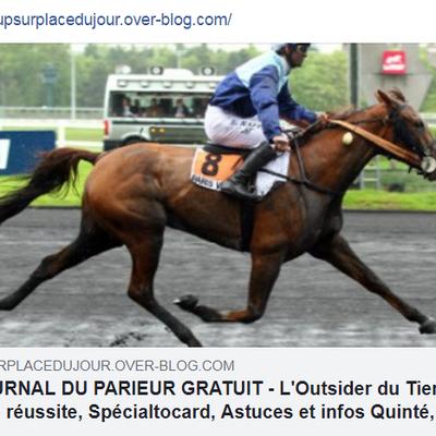 LE JOURNAL GRATUIT DU PARIEUR - 25 JANVIER 2021 - COUPLE DU JOUR DU TIERCE EN COUVERTURE