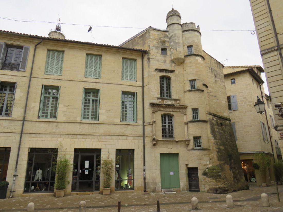 Elégante petite ville du Gard