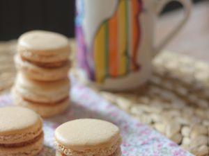 Macarons caramel au beurre salé (version Pierre Hermé)