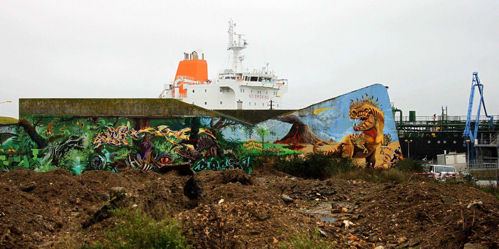 Lorient, port de commerce - Mardi 22 décembre 2020