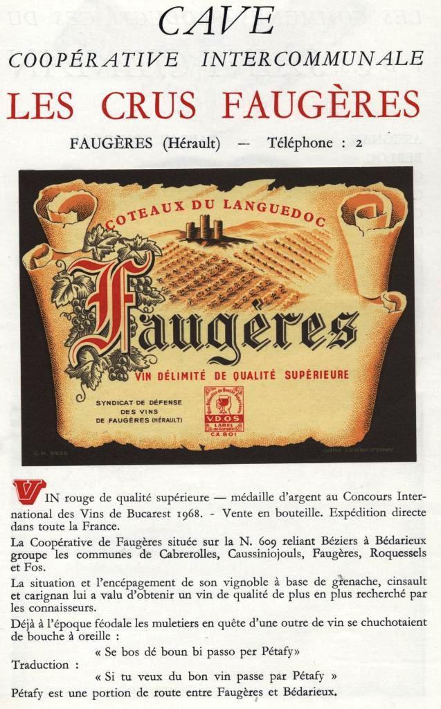 FAUGERES (Hérault)