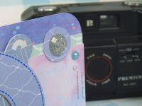 Carte - Anniversaire - Iris Magic - Scan N Cut - CM600 - Canvas Workspace - Appareil photo - 2020 - Strass