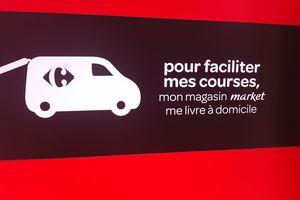 Carrefour dépose ses marques : un magasin test MARKET à Paris ? Premières images volées.