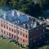 Clandon Park fire leaves Surrey stately home 'essentially a shell'