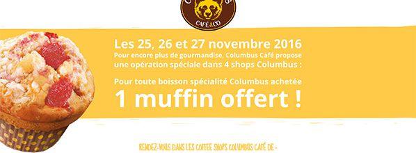 """Opération """"Black Friday"""" chez Columbus Café & Co"""