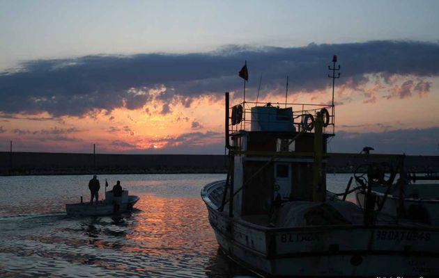 La Mer Noire, aux aurores
