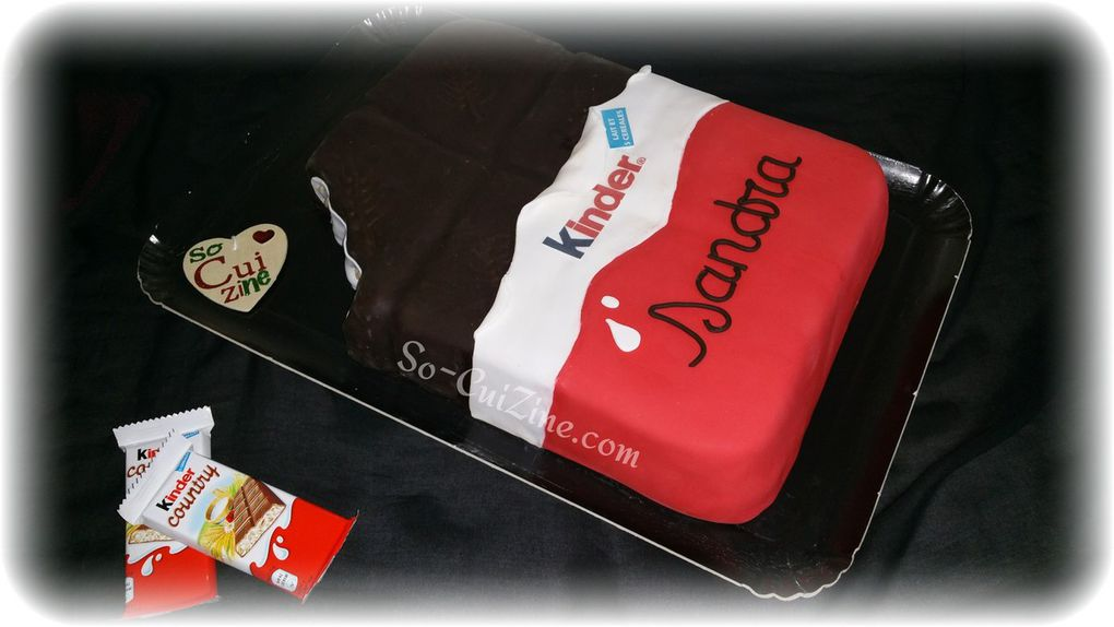 Kinder Country Cake