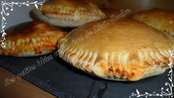 Pizza calzone / bacon mozzarella