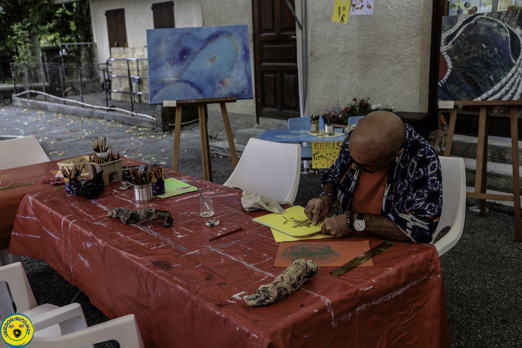 Thorame Haute L'association l'Art o village ouvrait ses portes