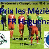 N3: Premier déplacement du FR Haguenau à Prix les Mézières - Doc de Haguenau