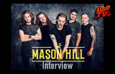 VIDEO - Interview avec le groupe Ecossais MASON HILL en VO
