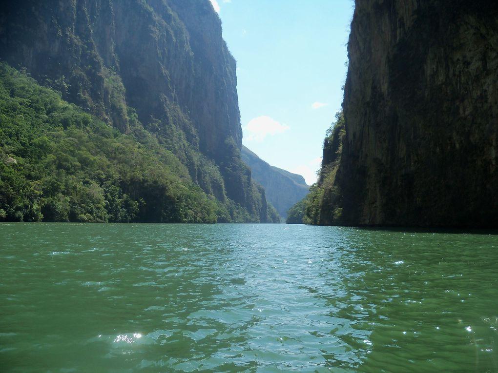 Viaje en el Chiapas........ Canyon del Sumidero.