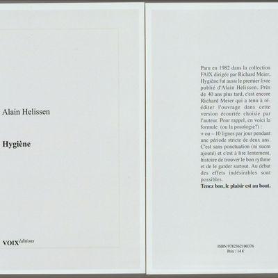 Hygiène, réédition