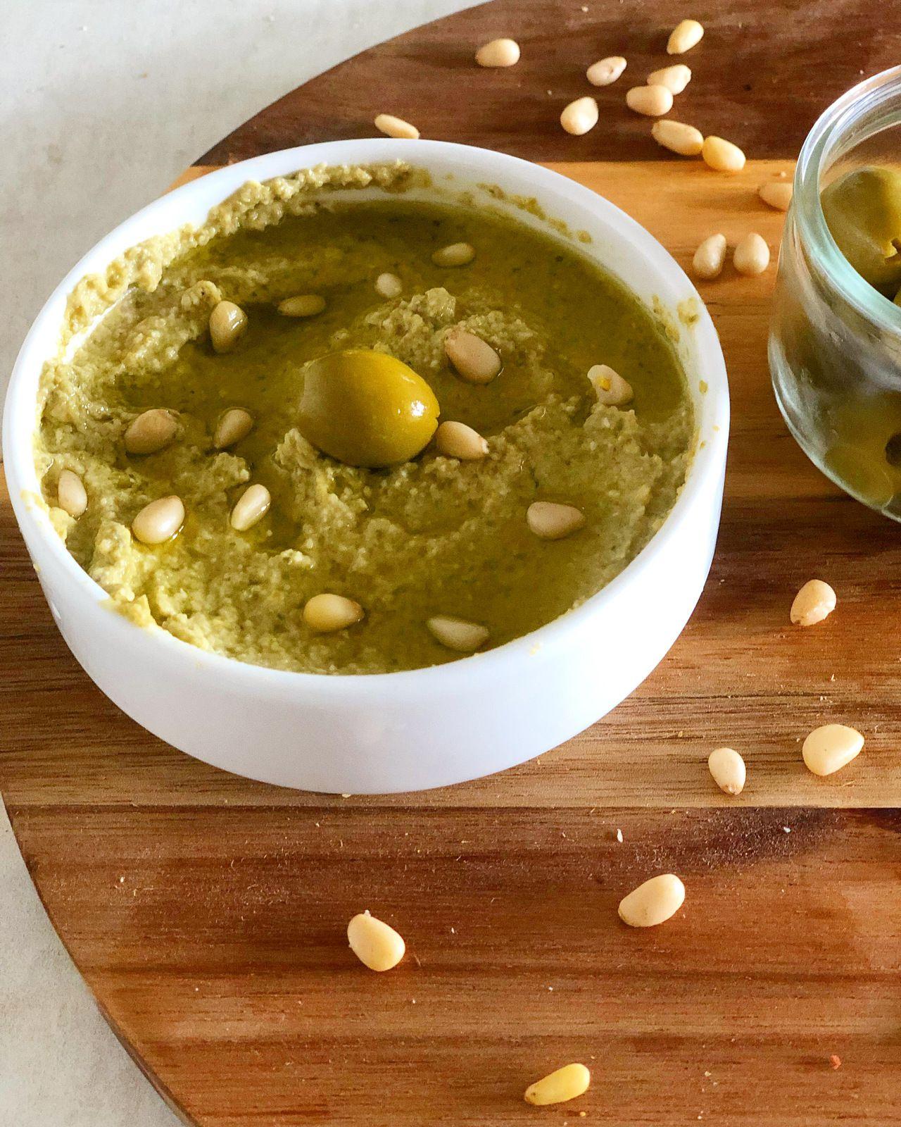 Tapenade verte ( aux olives vertes)