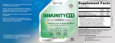 Immunity 911 : Will Give A Powerful Immunity System!