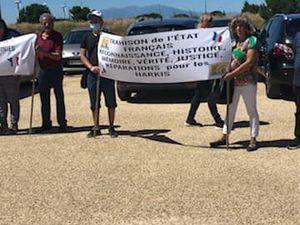 Rassemblement Harki à Rivesaltes du Samedi 4 juillet 2020