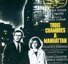 Trois chambres à Manhattan de Marcel Carné
