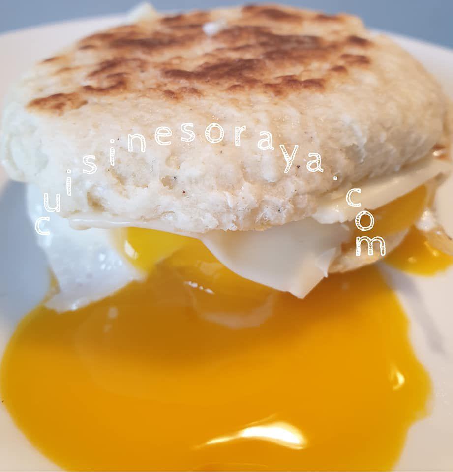 Egg muffin avec pain au skyr express
