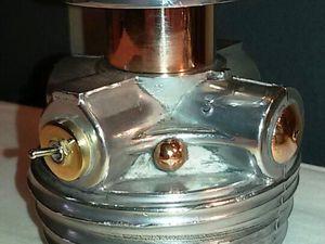 """"""" The Twins Rotors """" - Lampes jumelles à esprit industriel - 255 euros"""