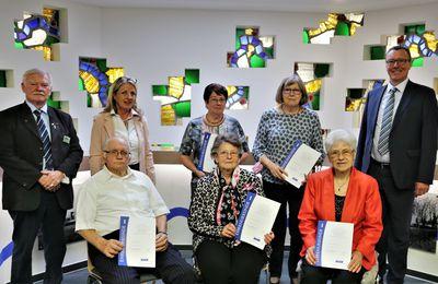 VdK-Ortsgruppe Veitshöchheim ehrte langjährige Mitglieder