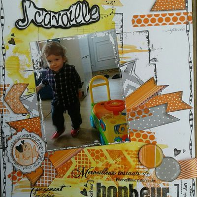 """Page A4 """"J' cavaille!."""""""