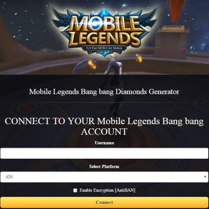 Mobile Legends Diamonds Generator Hack