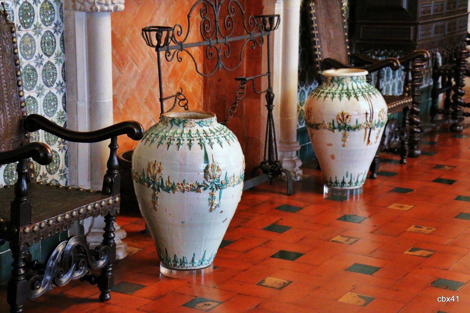 Salle manuelina du Palais National de Sintra (Portugal)