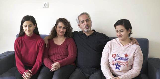 Farah, Donya, Taher et Arezoo