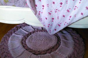 Tricoter un tapis en trapilho
