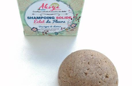 Découverte du shampoing solide Eclat de Fleurs, Akoya