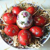 Идеи по украшению пасхальных яиц - Секреты поварского исскуства
