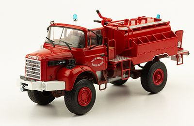Berliet L64 CCF au 1:43 (Hachette-Collections)