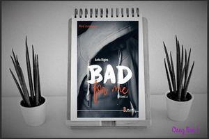 Bad for me, tome 2 - Anita Rigins chez Butterfly éditions