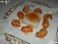 Queues de langoustines à l'armoricaine
