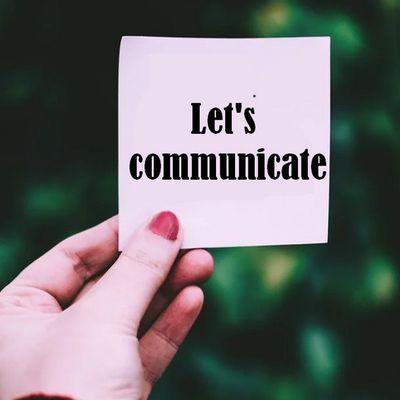 Une crise... c'est le moment de communiquer !