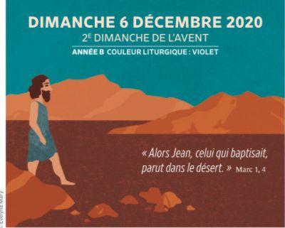 Paroisses de Genlis et Saint Just de Bretenières - Semaine du 5 au 13 décembre 2020 - 2ème  dimanche Avent Année B