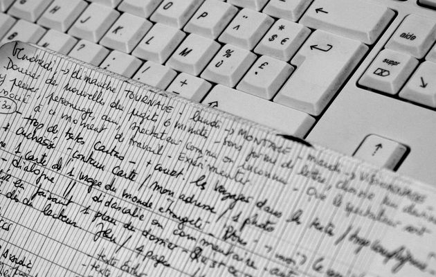 Venir pour écrire, écrire pour repartir : résidence d'écriture 2014