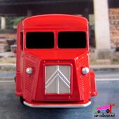 "FOURGON CITROEN TYPE H ""ESSO"" DINKY TOYS REEDITION ATLAS 1/43 - car-collector.net"