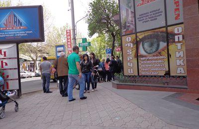 Yerevan, le 23 avril - 1e partie