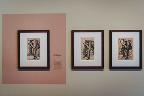 Study for 'Worn out' will be on display at the Van Gogh Museum in Amsterdam until 2 January 2022. Photo: Jelle Draper