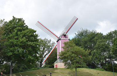 Bruges 5 : Moulins, remparts et Sainte Anne