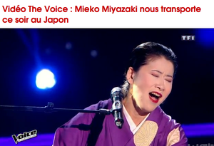 Mieko in The Voice