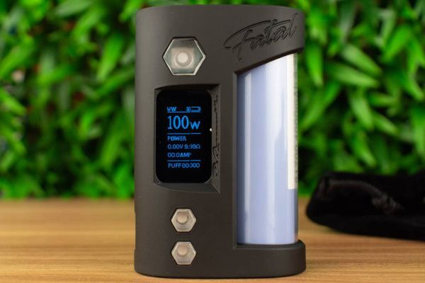 Test - Box - Fatal Mod Clear Edition 100W de chez QP Design
