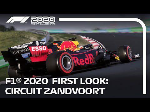 [ACTUALITE] F1 2020 - Le circuit virtuel de Zandvoort en vidéo et les jaquettes dévoilés!