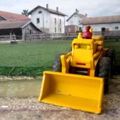MB43-b AVELING BARFORD TRACTOR SHOVEL TRACTOPELLE LESNEY 1/97 - car-collector.net